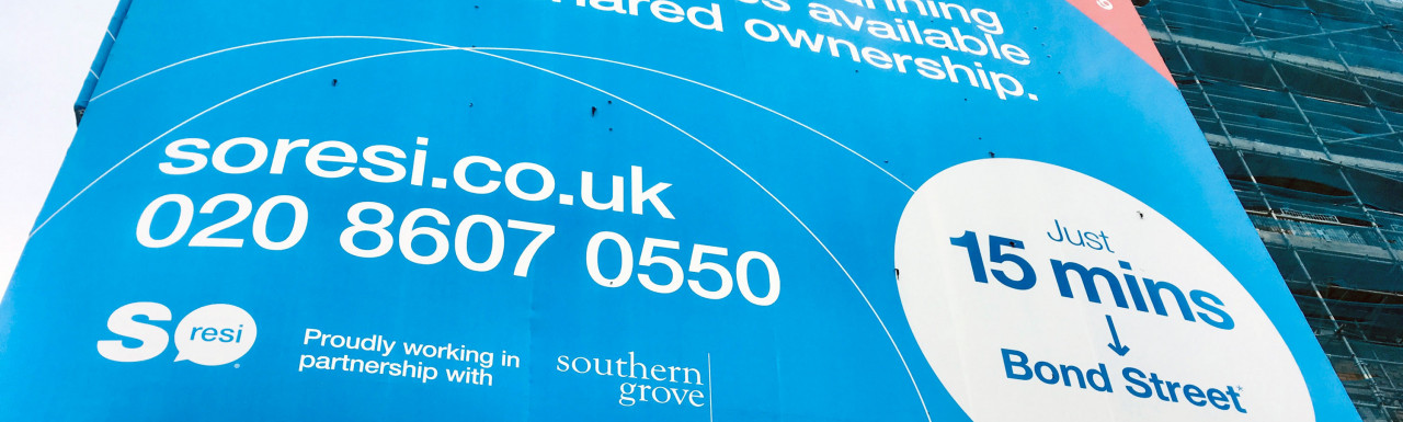 So Resi Ealing - 1, 2 and 3 bedroom Shared Ownership homes.