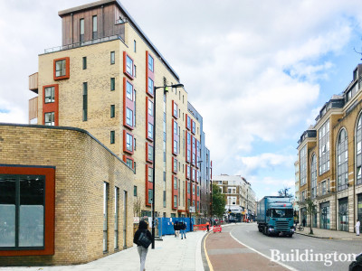 Noma development on Kilburn High Road, London NW6.