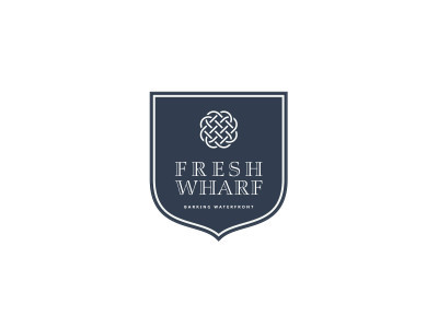 Fresh Wharf development logo.