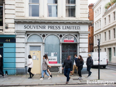 Souvenir Press Limited has closed at 43 Great Russell Street