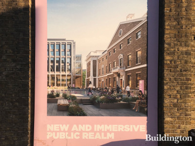 Royal Mint Court development - new and immersive public realm