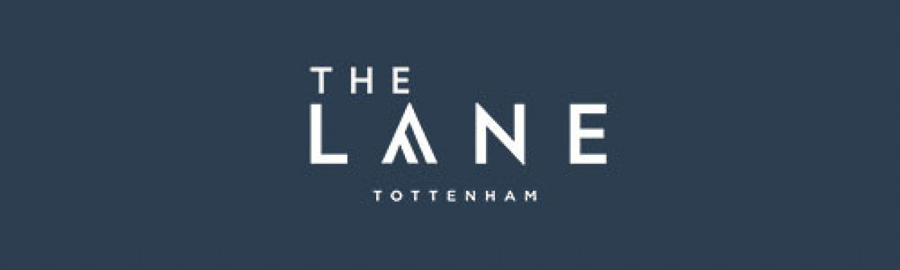 The Lane development logo; by Fairview New Homes in London N17.