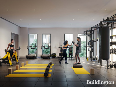 The Gym at 10 George Street - A private gym studio for residents, run by leading wellness experts Antidote, part of The Health Concierge Group.