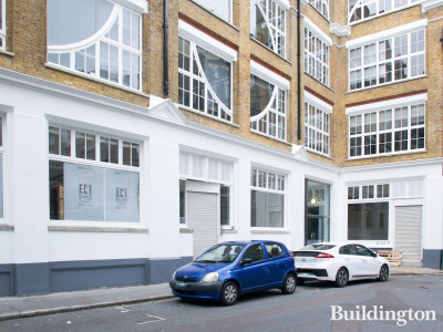 EC1 Build fit out at 32-33 Gresse Street offices in Fitzrovia, London W1.