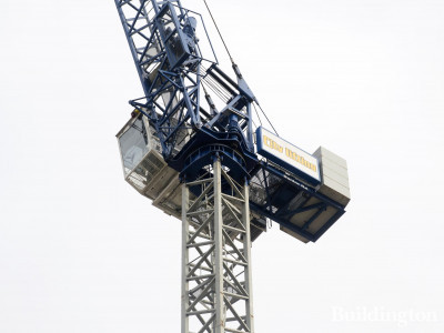 City Lifting crane at 61 Curzon Street development site.