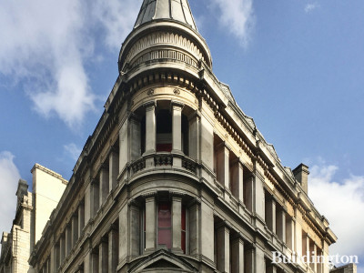 Berwick House on the corner of Oxford Street and Berwick Street in London W1.