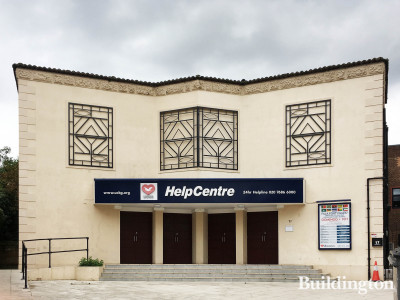 UCKG HelpCentre building at 17 Heathfield Park in Willesden, London NW2.