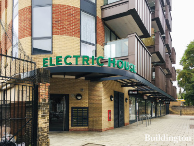Electric House on Willesden Lane, London NW2.