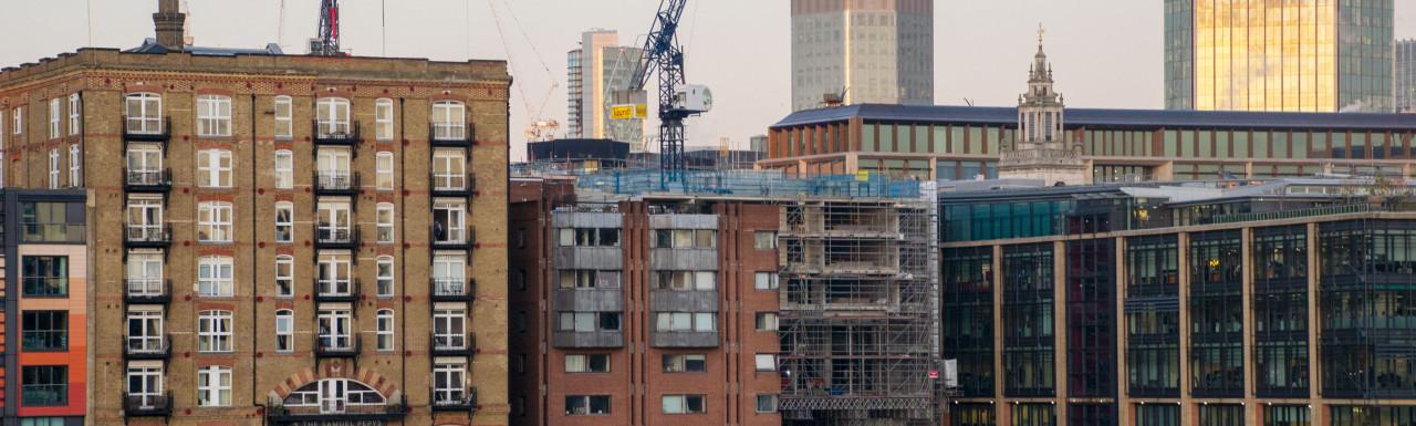 The Westin London City development.