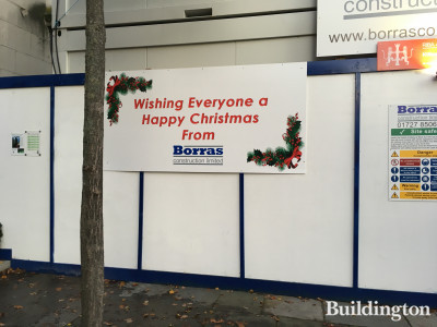 Wishing everyone a happy Christmas from Borras Construction Limited - St Paul's Cathedral School