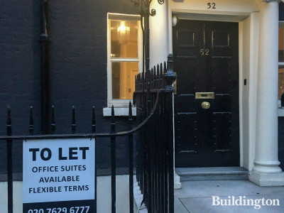 To let at 52 Berkeley Square - office suites available, flexible terms.