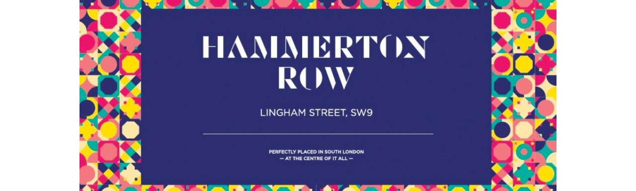 Hammerton Row development by Hyde New homes.