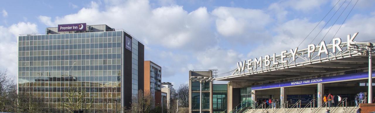 Brook Avenue development site in Wembley HA9