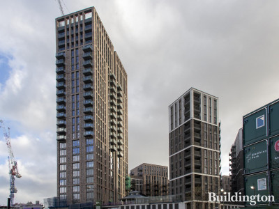 26-storey Block G in the Canada Gardens development in Wembley Park.