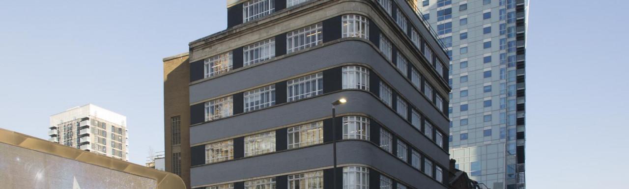 133 Whitechapel High Street building in London E1.