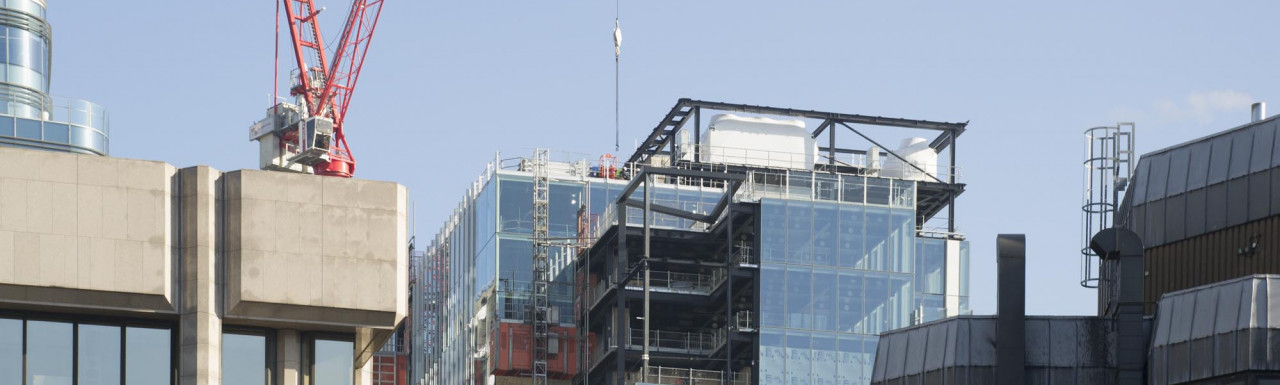 One Braham office building under construction.