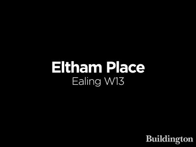 Eltham Place development in West Ealing