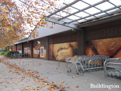 Aldi store at 840 Old Kent Road in 2018.