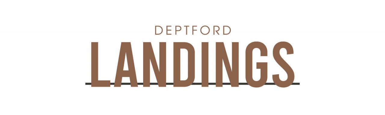 Deptford Landings development logo.