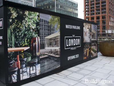 Water Pavilions, The London Project.
