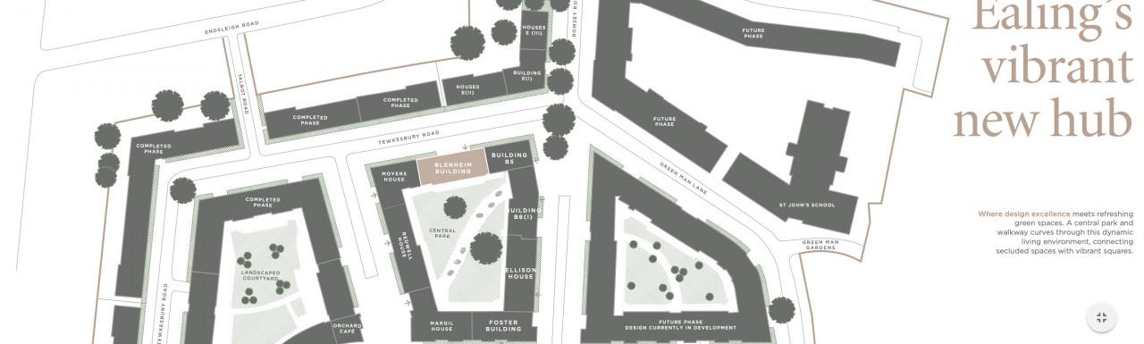 Jigsaw development site plan.