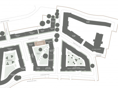 Jigsaw development site plan.