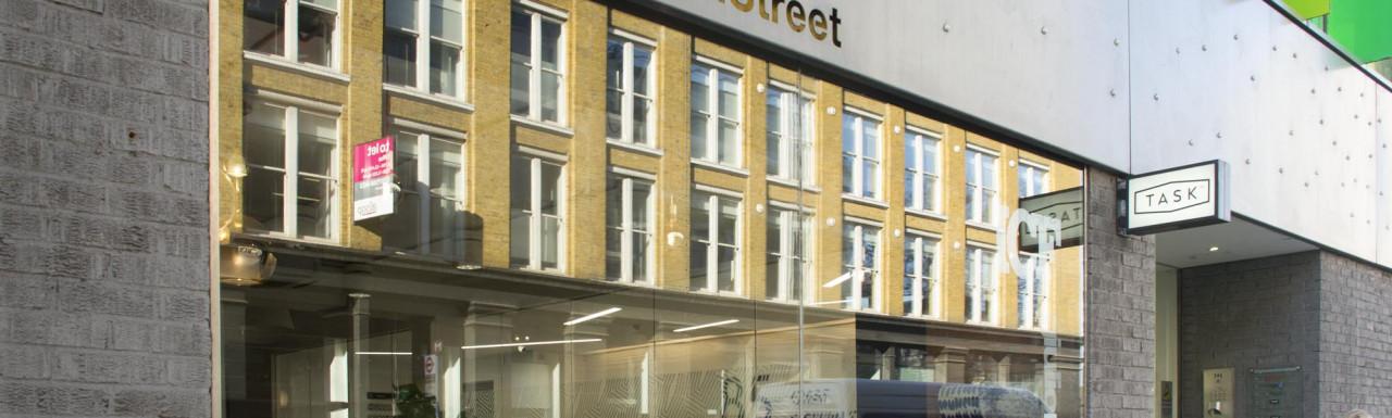 85 Great Eastern Street building in Shoreditch, London EC2.