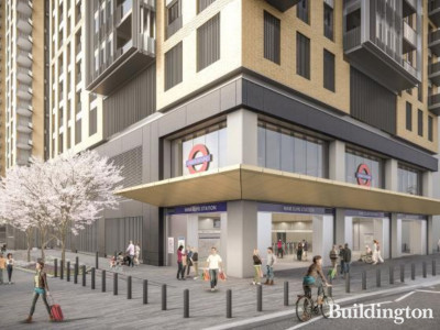 Nine Elms Underground Station & Development