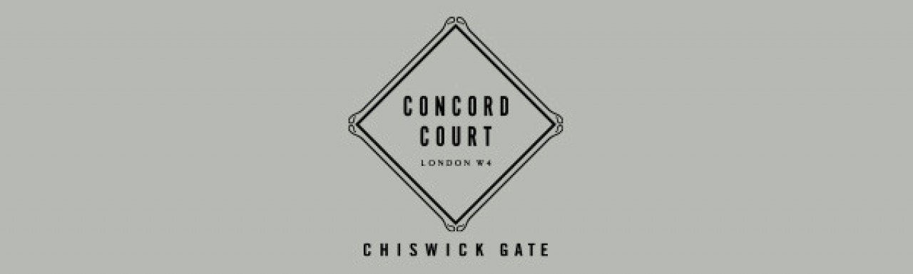 Concord Court logo - this is the final phase in the Chiswick Gateway development from Berkeley.