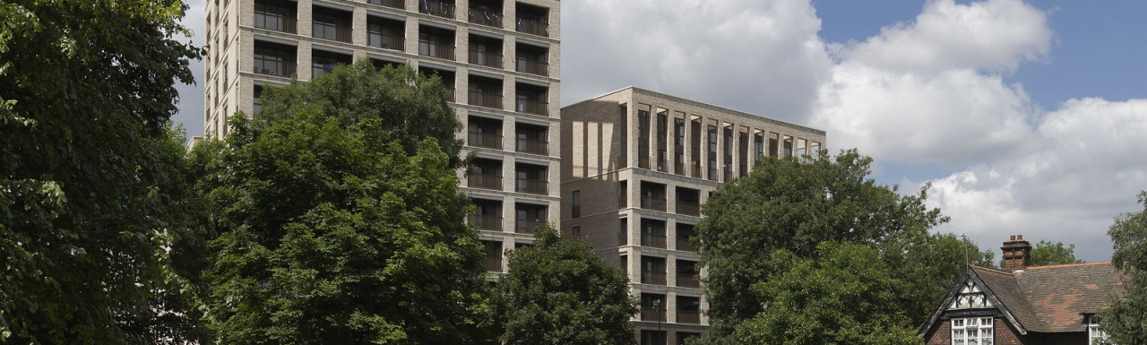 Kings Crescent development is designed by Karakusevic Carson Architects.