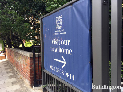 Anthology Wembley Parade - visit our new home. Sign on North End Road.