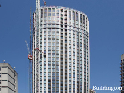 Westmark Tower under constrcution.