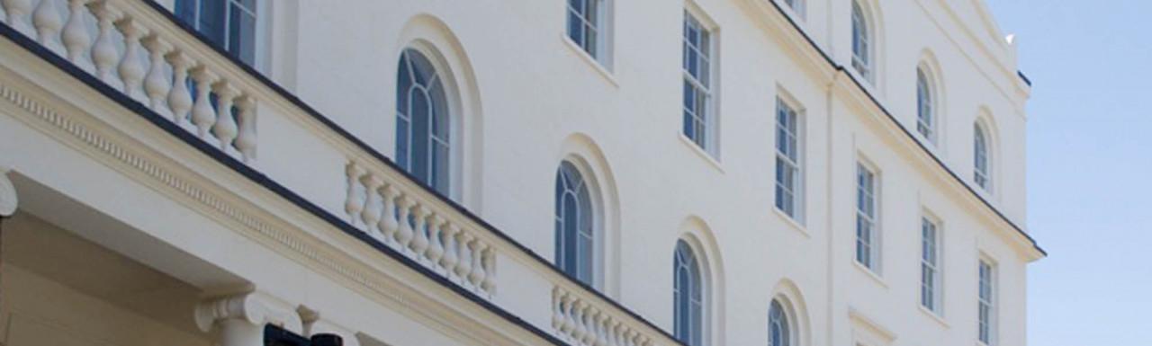 Park Crescent designed by John Nash.