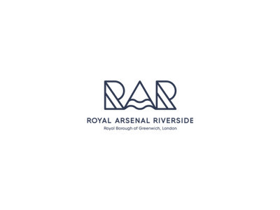 Royal Arsenal Riverside logo