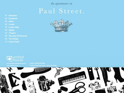 Screen capture of Paul Street development website ar www.paulstreetec2.com