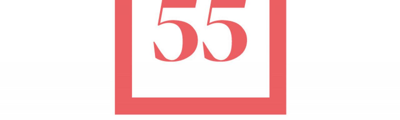 55 Bartholomew Close office development logo.