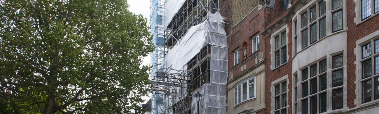 29 Great Peter Street development under construction.
