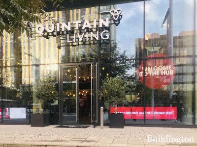 Quintain Living office at Landsby on Olympic Way.