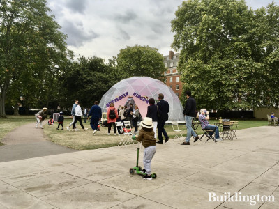 Butterfly Biosphere in Grosvenor Square.