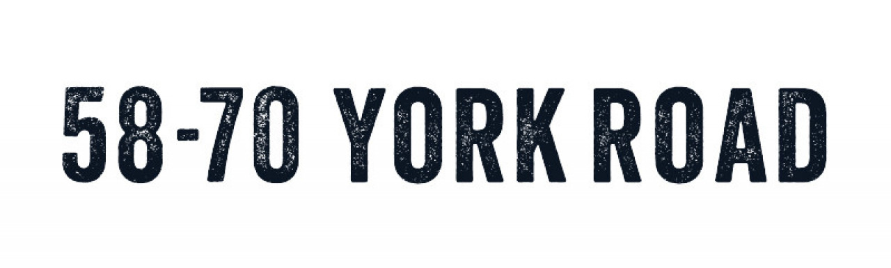 58-70 York Road development logo.