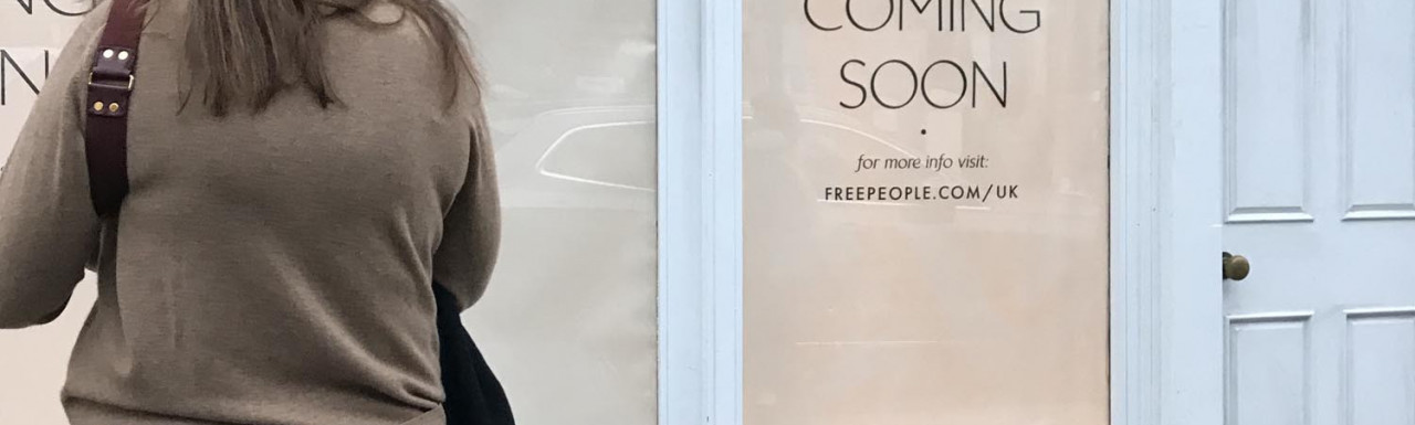Free People - American bohemian apparel and lifestyle retail store - coming soon to 188 Westbourne Grove.