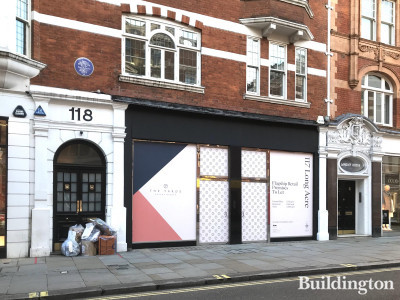 Wilfred House at 118 Long Acre. 117 Long Acre retail premises on the ground and basement floors.
