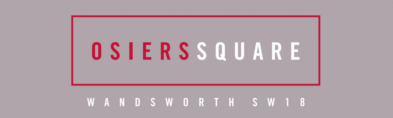 Osiers Square development logo. New homes from Taylor Wimpey in Wandsworth, London SW18.