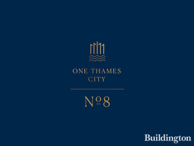 No. 8 One Thames City development logo.