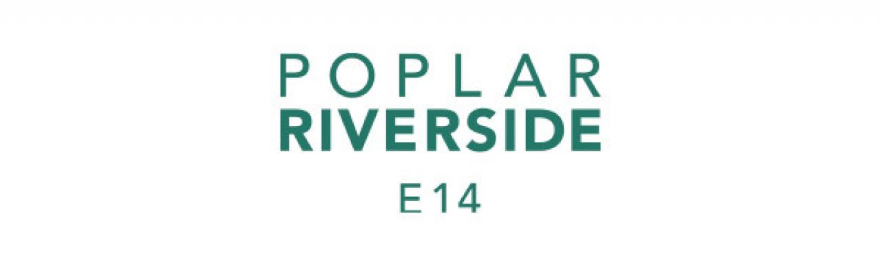 Poplar Riverside logo.