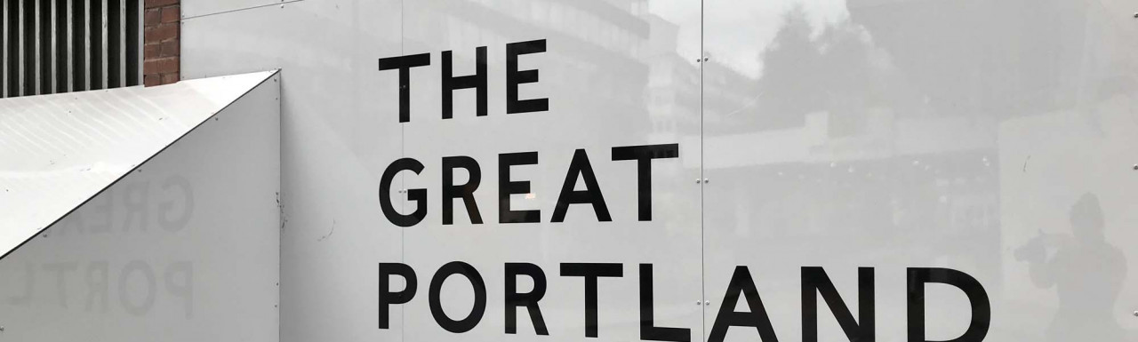 The Great Portland development.
