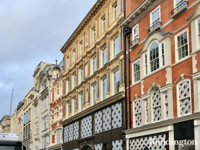 66 New Bond Street is advertised to let after complete refurbishment in 2020.