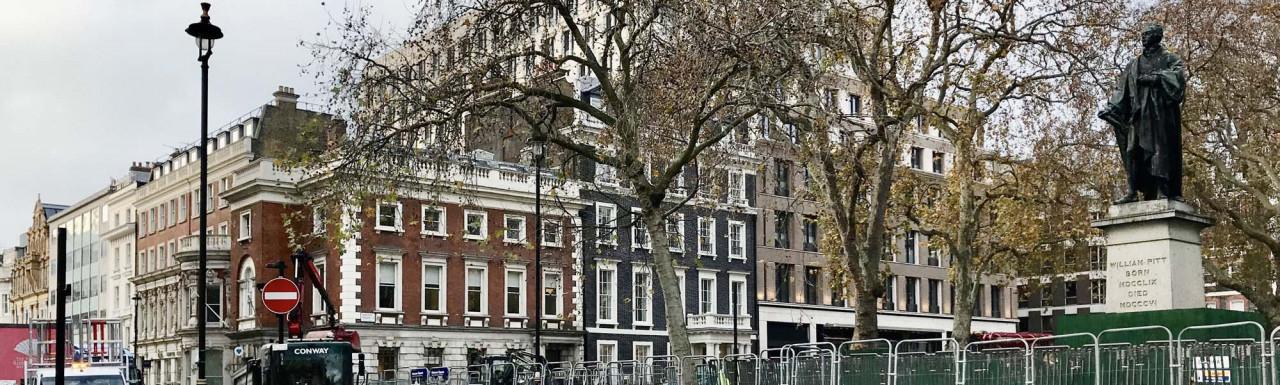 Hanover Square development in autumn 2020.
