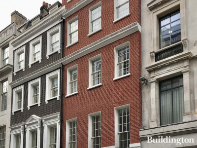 1 New Burlington Street building in Mayfair, London W1.