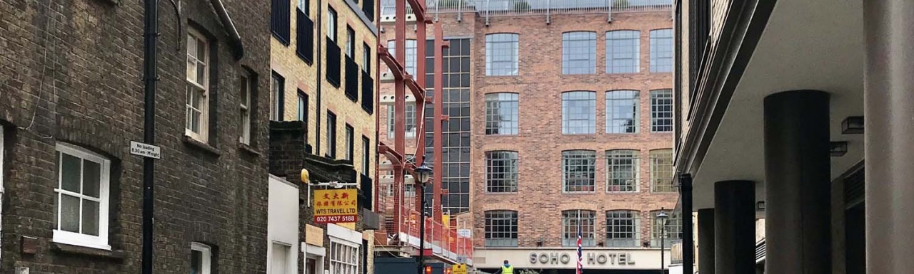 9-11 Richmond Buildings development in autumn 2020.